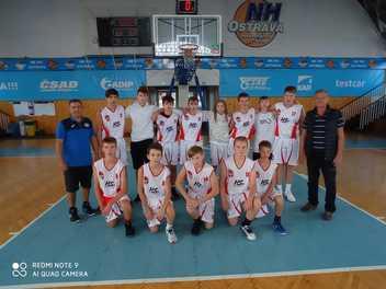 Přípravný turnaj U15 Steel cup 2021 v Ostravě