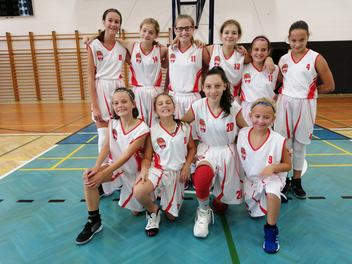 Dívky U13 ve svém prvním mistrovském dvojutkání dvakrát prohrály s Prostějovem